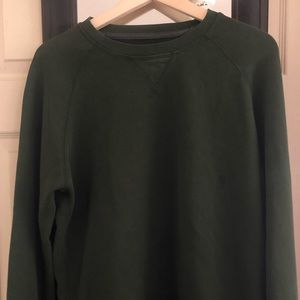 American eagle Holliday vintage green sweater